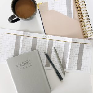 Fold out year to view planner